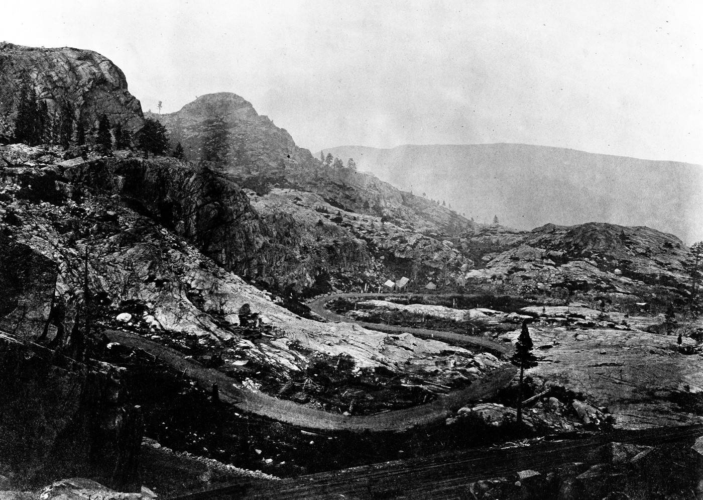 a history of the donner reed party in sierra nevada Tragedy in the sierra nevada: a narrative of the donner  of american history,  and focuses mainly on the travails of the donner-reed party at the lake.