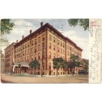 Leland Hotel, Sixth Street and Capitol Avenue (1914 postcard)