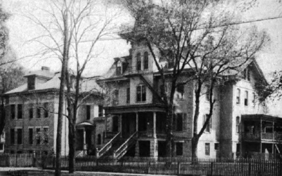 Home for the Friendless, circa 1914 (Springfield Survey photo)