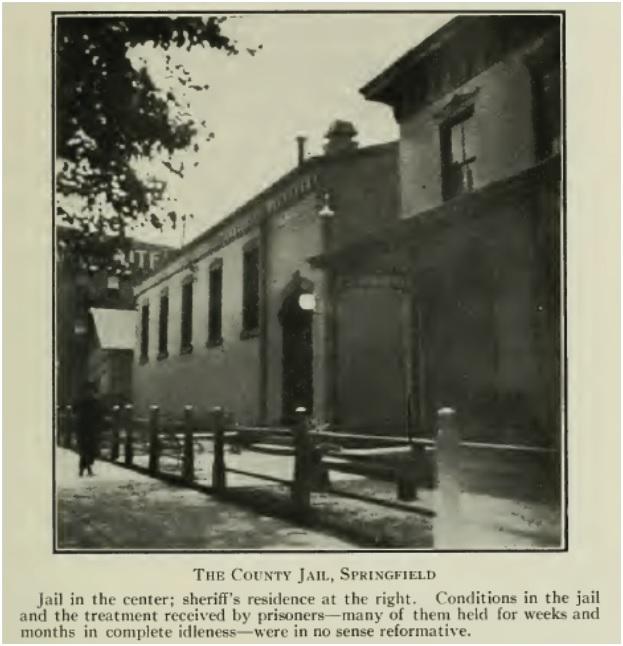 Sangamon County jail, 1914