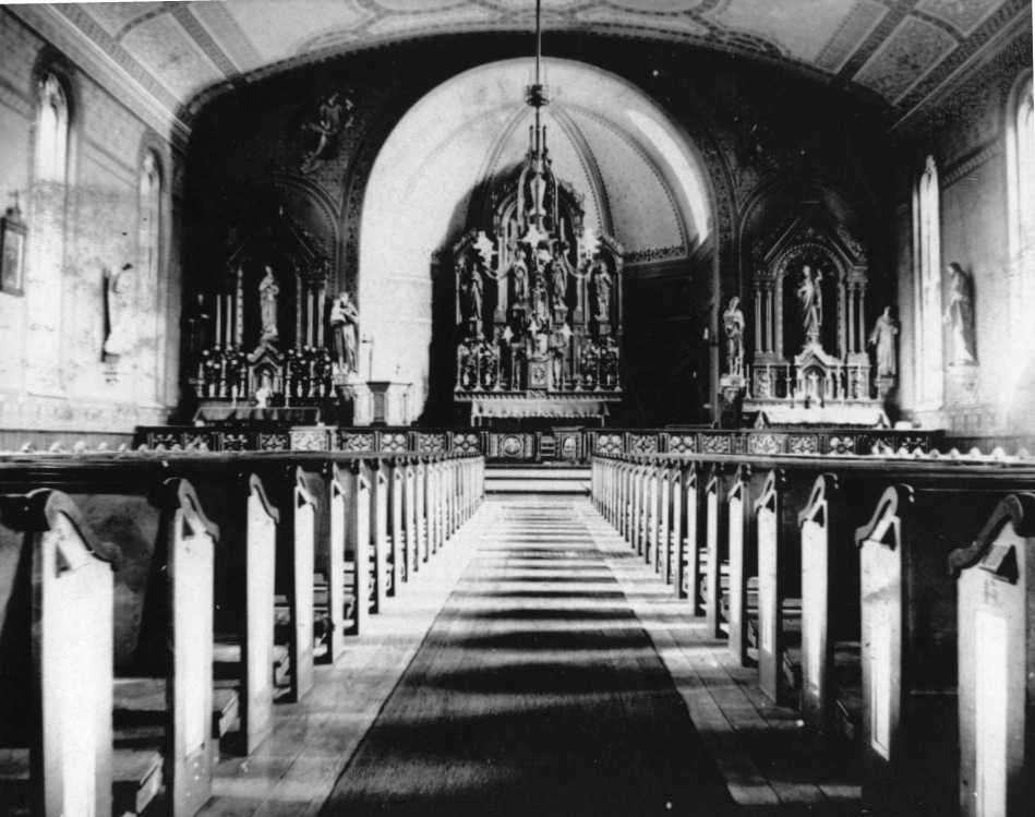Interior of Ss. Peter and Paul Catholic Church