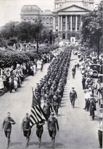 World War I homecoming
