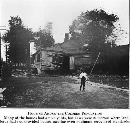 black housing
