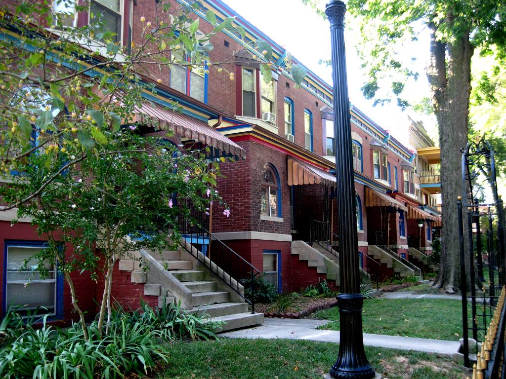 The Enos Flats, renamed the Victorian Apartments. in 2013 (SCHS photo)