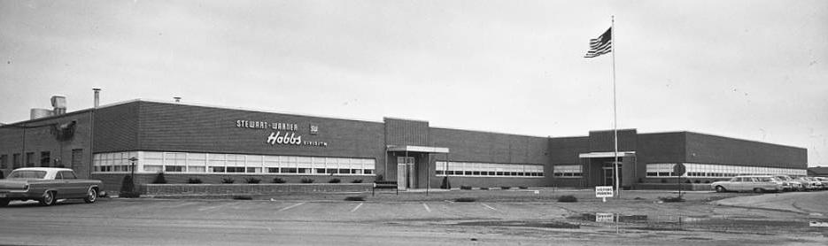 John W. Hobbs division of Stewart Warner, 1966