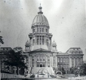 Illinois Statehouse, ca. 1880