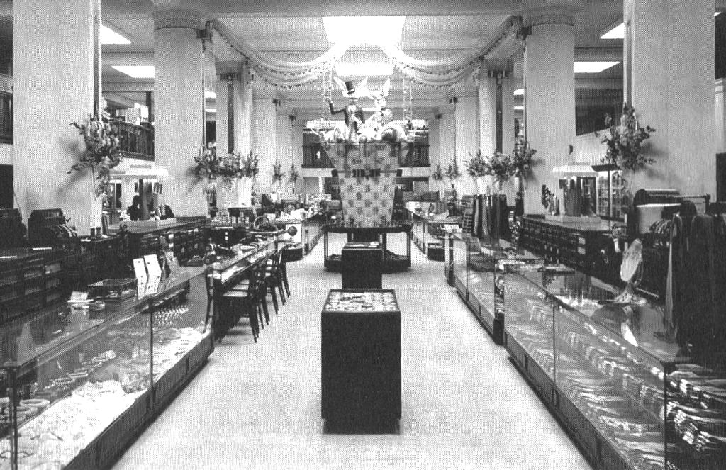 Myers Brothers Department Store, downtown Springfield (Sangamon Valley Collection)