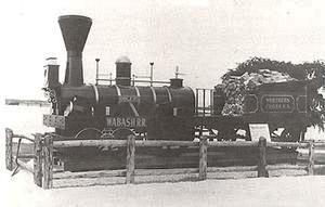 Northern Cross locomotive (Illinois State Museum)