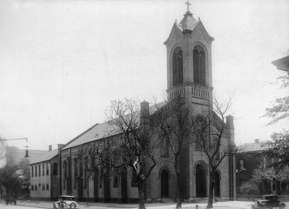 Exterior of Ss. Peter and Paul Catholic Church, 426 N. Sixth St.