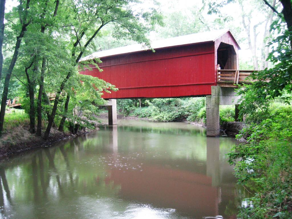 Sugar Creek Covered Bridge (SCHS photo)