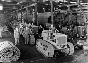 Allis-Chalmers warehouse, 1945 (Sangamon Valley Collection)