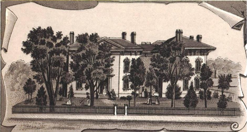 Bettie Stuart Institute, ca. 1890 (Souvenir of Springfield, 1890)