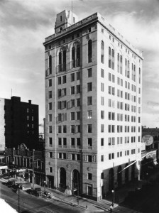 Ridgely Farmers State Bank building