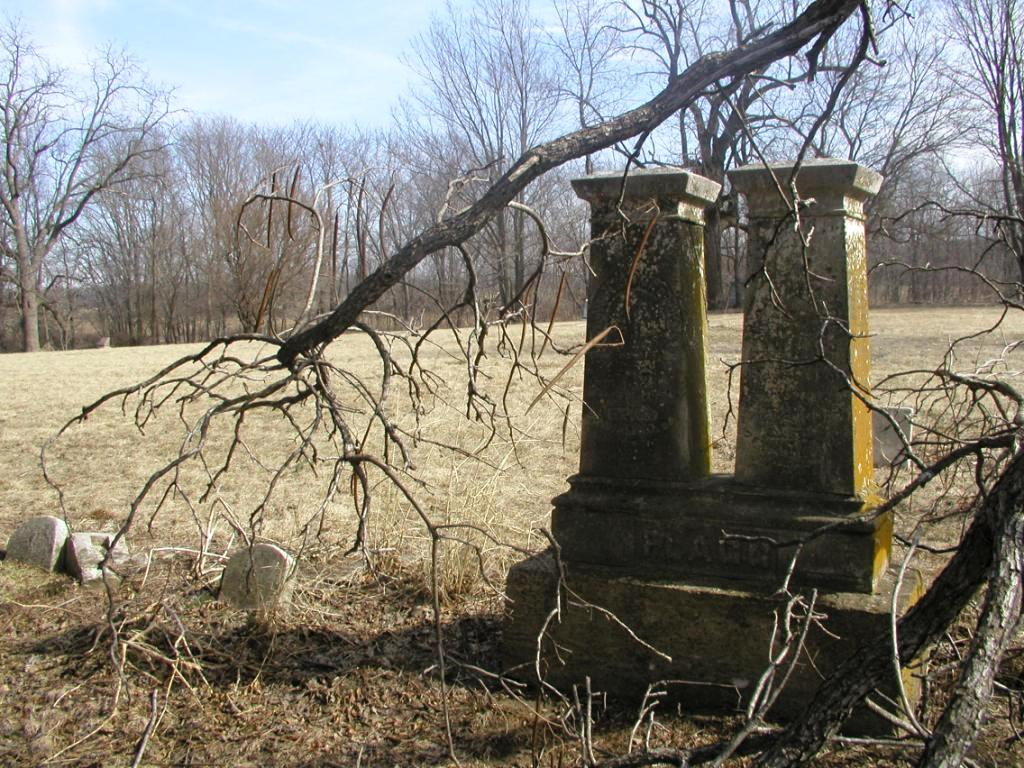 Kerns Cemetery, Sherman, 2008 (courtesy Donna Catlin)