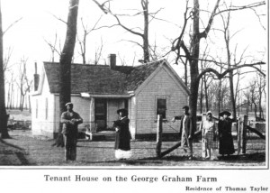African American tenants on the George Graham farm, Pictorial Community Album, 1918 (not in 2014 brochure)