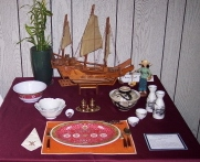 Table setting example from 2008 (SCCC photo)