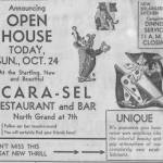 Newspaper ad, undated