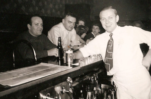 Tony Yuscius behind the bar (Joe Saputo in dark sweater)