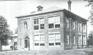 Dawson High School in an undated photo (Illinois Glory Days)