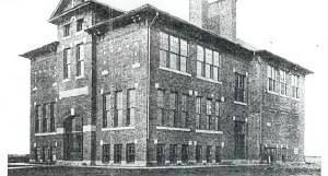 Divernon High School, erected 1912 (Illinois Glory Days)