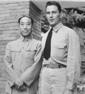 Rhule with Gen. Tai Li, head of the Nationalist Chinese secret police, in 1945.