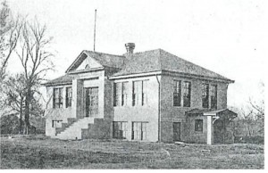Salisbury High School, about 1914 (Illinois Glory Days)