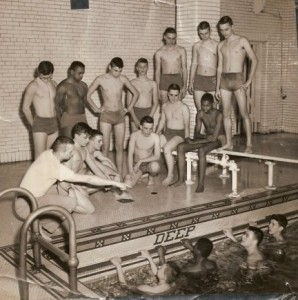 Feitshans swim team, 1962-63 (Illinois Glory Days)