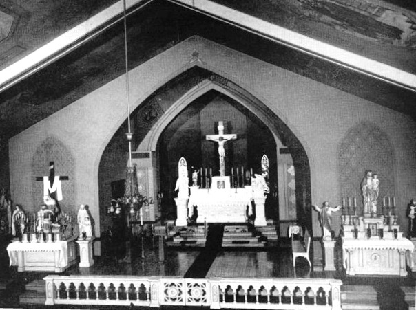 Interior of St. Vincent de Paul Church (all photos courtesy Lithuanians in Springfield)