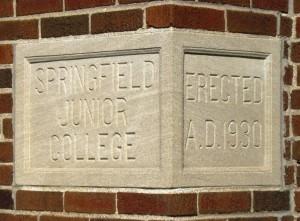 Dawson Hall cornerstone