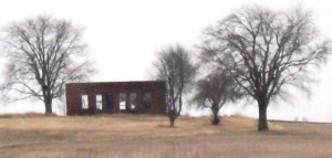 Remnant of the Sangamon County Poor Farm, 2015 (SCHS)
