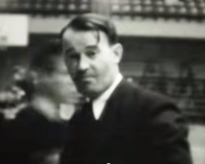 Peterman at the 1933 tournament (IHSA capture)
