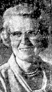 Pauline Leasman, 1972
