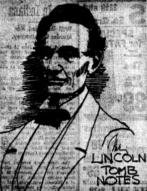 The last 15-minute sketch done by Earl Owen Fay, published by the Illinois State Journal the day after he retired in 1950. (SJR)