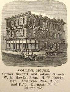 Collins Hotel, 1912