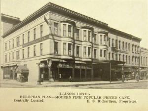 Illinois Hotel, 1912