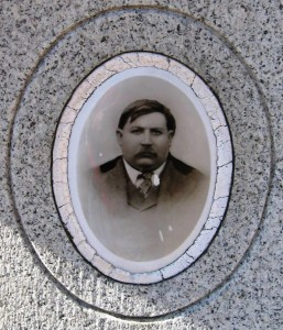 Calvary Cemetery photo believed to be that of Joe Yucas (SCHS)