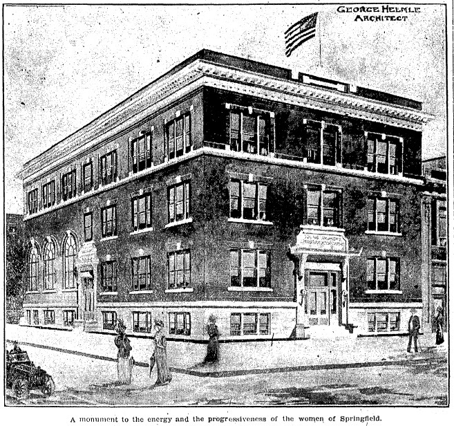 The YWCA building as seen in 1918 (SJR)