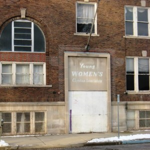 YWCA Jackson Street entrance, 2016 (SCHS)