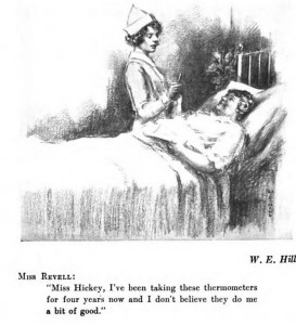 Revell in her hospital bed (Right Off the Chest)