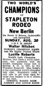 rodeo ad