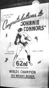 Poster for 1956 Connors tribute (Sangamon Valley Collection)