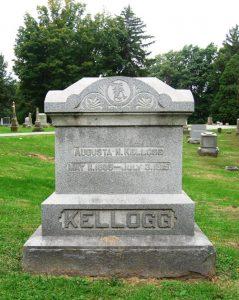 """""""Madame Brownie's"""" gravestone at Oak Ridge Cemetery (SCHS)"""