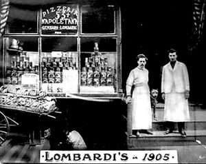 Lombardi's Pizzeria, New York City, 1905 (Courtesy Lombardi's)
