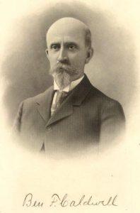 Ben F. Caldwell, 1880s