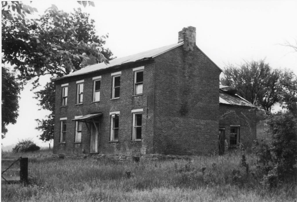 The Beam home in 1969 (Sangamon Valley Collection)