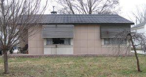 John Weinhoeft's Lustron home, 2424 S. Pasfield. (SCHS)