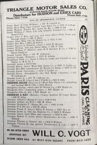 "The (c) in this listing for Dreamland Park in the 1921 Springfield city directory indicates the park was owned by an African-American -- ""colored"" person. (SVC)"
