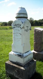 Henry Traylor's gravestone, Concord Cemetery (findagrave.com)