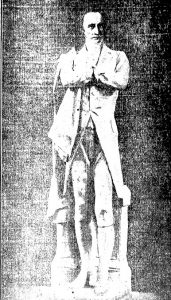 The statue in 1913 (Courtesy State Journal-Register)