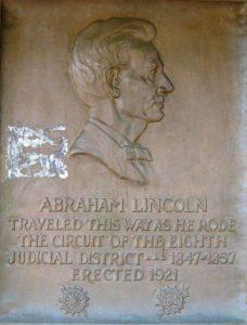 Original Eighth Circuit plaque (SCHS)